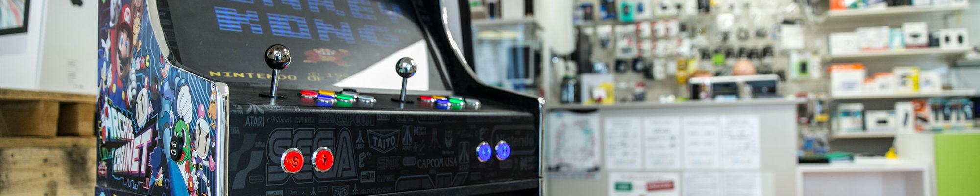 Fabrication sur-mesure de borne d'arcade en Maine-et-Loire