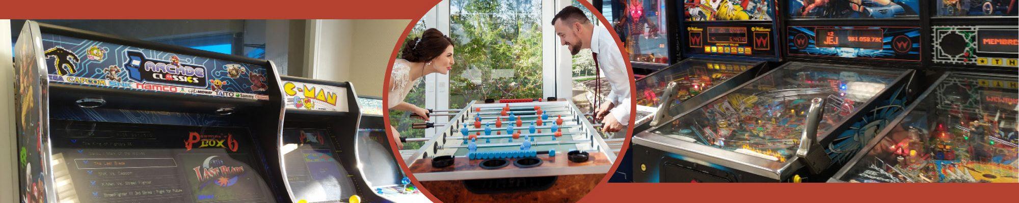 Location de jeux de café en Maine-et-Loire : flipper, arcade, babyfoot